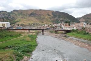 Rio Choluteca a su paso por Tegucigalpa