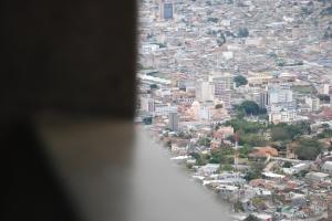 El centro de Tegucigalpa desde El Picacho