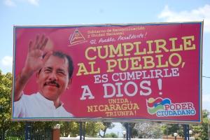 Autobombo Daniel Ortega