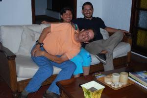 El trio de Cooperantes