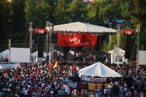 Concierto Voces contra el Golpe en Honduras